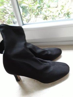 H&M Ocieplane botki czarny