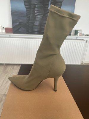 Bianca Di Slip-on laarzen khaki