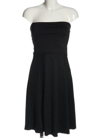 sodacoda schulterfreies Kleid schwarz Elegant