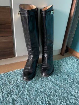 Raphael Riding Boots black-gold-colored