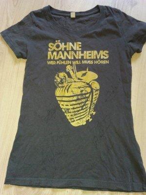 Söhne Mannheims Fan Shirt S 36 34-36 mit Autogrammen Signaturen Unterschriften