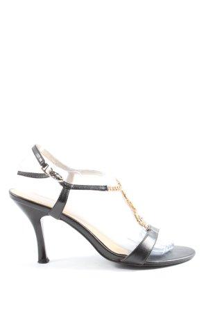 sofia High Heel Sandaletten schwarz Casual-Look