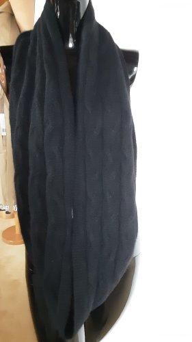 Écharpe en cachemire noir