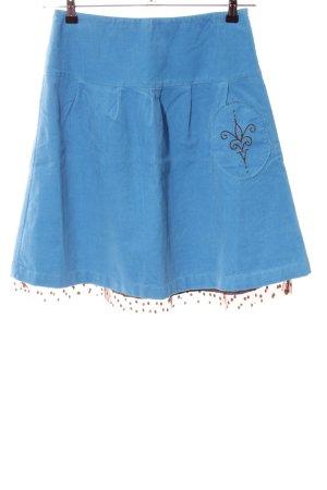Sofie schnoor Ballonrock blau Punktemuster Casual-Look