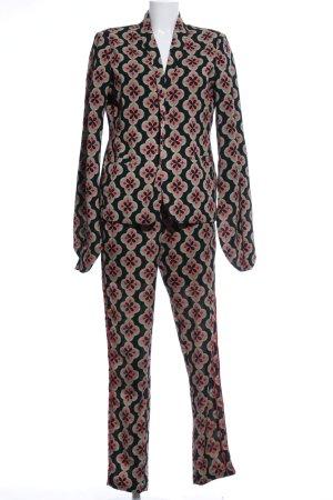 Sofie schnoor Tailleur-pantalon motif abstrait style extravagant