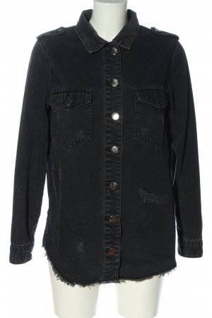 Sofie schnoor Denim Shirt black casual look