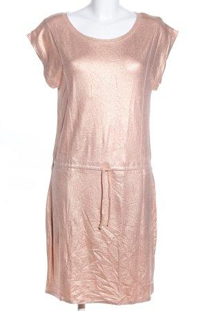 Sofie schnoor Kurzarmkleid pink-goldfarben meliert Casual-Look