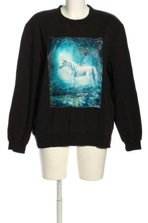 Sofie schnoor Sweatshirt Motivdruck Casual-Look