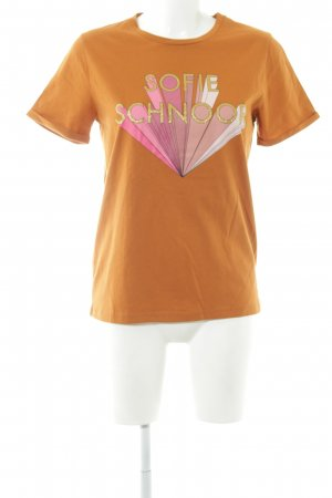 Sofie schnoor T-Shirt Schriftzug gedruckt schlichter Stil