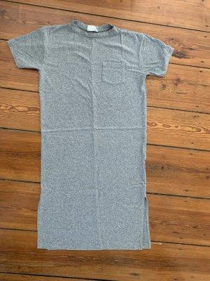Soft American Vintage Dress T-Shirt-Kleid Maxi-Dress XS/S in Grau