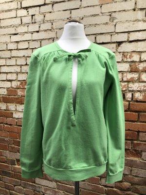 Soft Grey Sweatshirt Pullover neongrün grün Gr. 32 (eher 36) / S