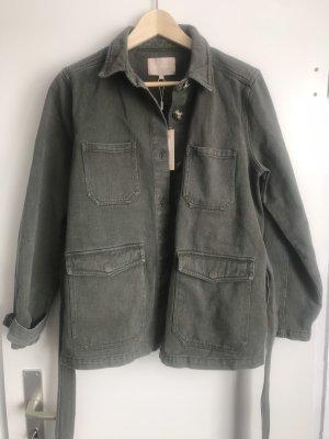 Soft Rebels Oversized Jacket khaki