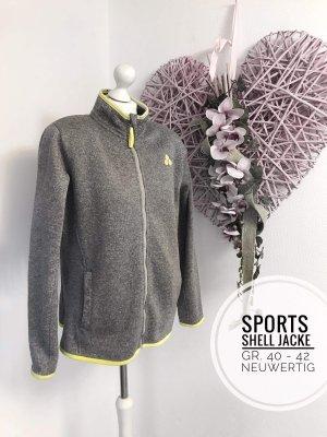 Soft Shell cardigan Outdoor Jacke Übergangsjacke Sport Trainingsjacke 42 44 Damen plus size