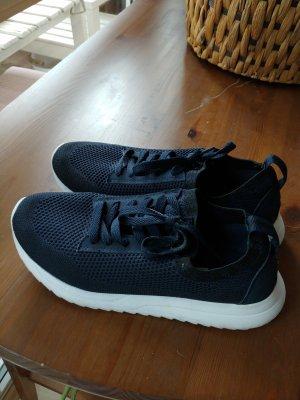 Venice Sneaker slip-on bianco-blu scuro