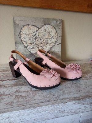 Softclox Tacones sin talón rosa