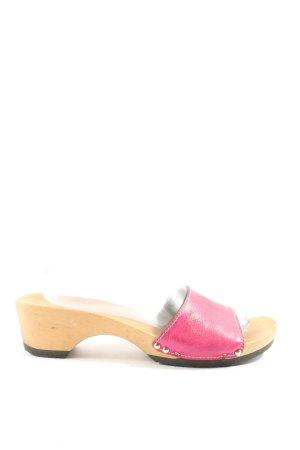 Softclox Sandalias tipo clog rosa look casual