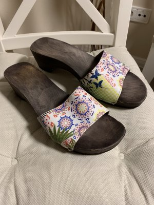 Softclox Clog Sandals multicolored