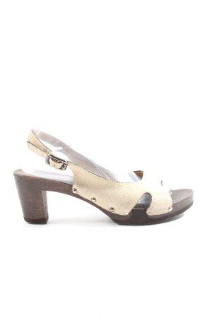 Softclox Riemchen-Sandaletten wollweiß Casual-Look