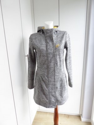 Maui Wowie Softshell Jacket silver-colored-neon yellow polyester