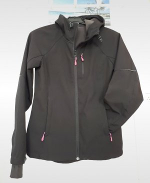 H&M Softshell Jacket black