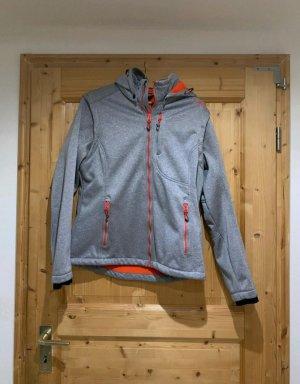 CMP Softshell Jacket grey-orange