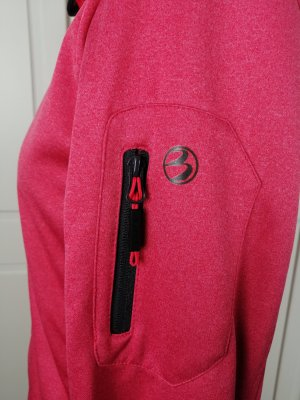 First B Giacca softshell rosso lampone-magenta