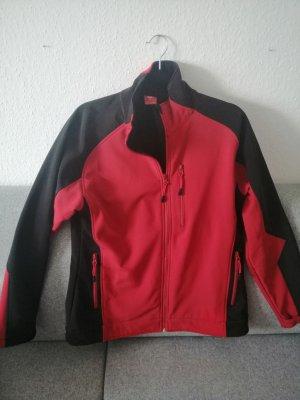 Engelbert Strauss Giacca softshell nero-rosso