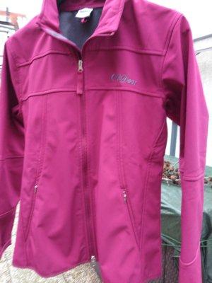 Toptex Giacca softshell grigio-rosa