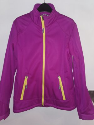 no name Chaqueta softshell violeta