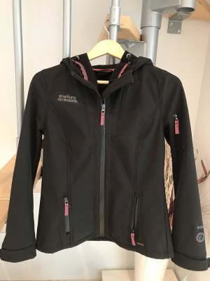 Colours of the World Chaqueta softshell negro