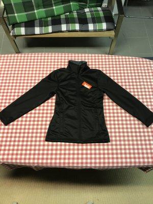 Softshell-Jacke mit Fleece-Fütterung in Schwarz, gr. XS, Neu mit Etikett
