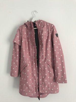 Blutgeschwister Softshell Jacket light pink-white