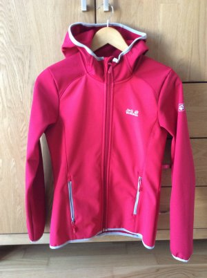 Jack Wolfskin Softshell Jacket red polyester