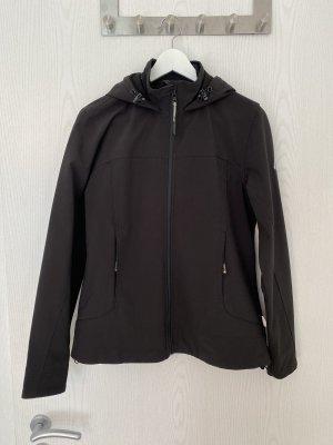 Softshell Outdoor Jacke Hickory schwarz, Gr. M