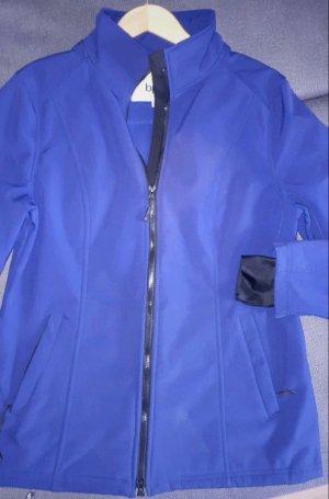 b.p.c. Bonprix Collection Softshelljack blauw