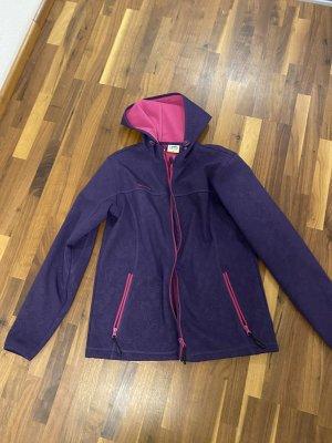 KilimAnjarO Softshell Jacket dark violet-blackberry-red