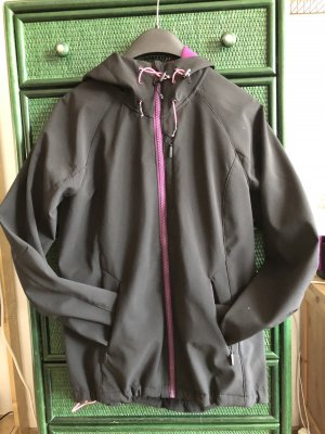 H&M Softshell Jacket black-lilac