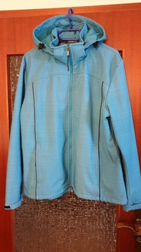 Blue Wave Veste softshell bleu azur