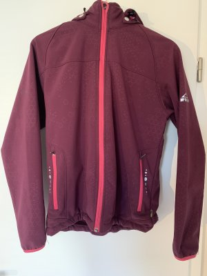 Mc Kinley Softshell Jacket blackberry-red