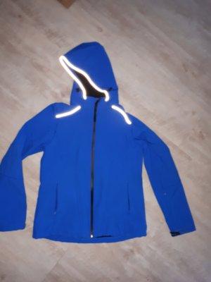 Crivit Softshell Jacket blue-neon blue