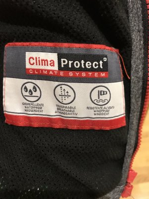 CMP Giacca softshell argento-rosso