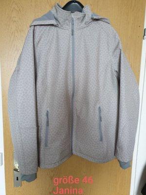Janina Softshell Jacket grey-dark grey
