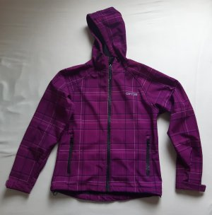 GTS Softshelljack violet-roze Polyester