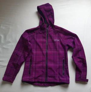 GTS Giacca softshell viola-rosa Poliestere