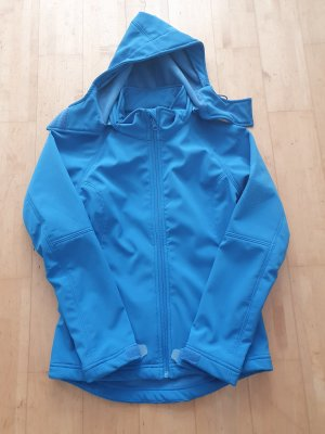 Unbekannte Marke Veste softshell bleu fluo