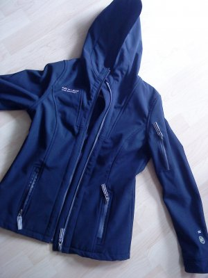 Colours of the World Chaqueta softshell azul oscuro Poliéster