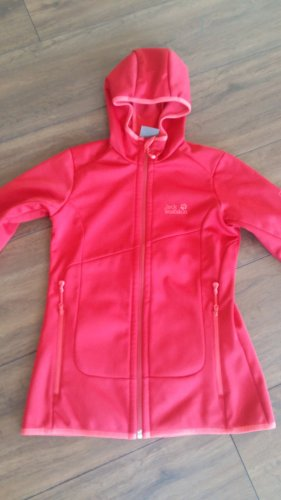 Jack Wolfskin Giacca softshell rosso scuro