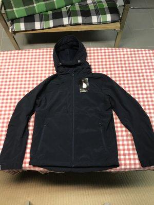 B&C collection Softshell Jacket black nylon