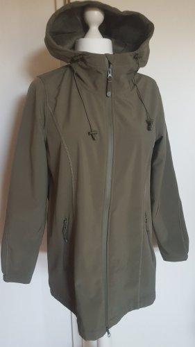Zizzi Softshell Jacket olive green