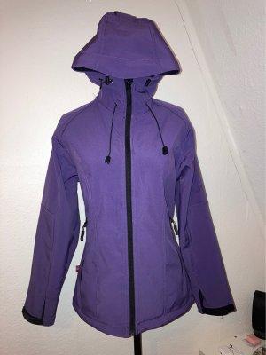Norway Chaqueta softshell violeta oscuro
